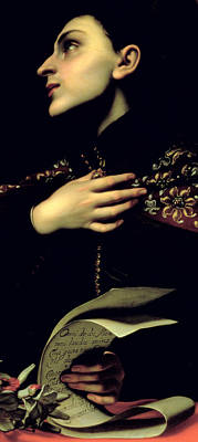 Polish Painting -  St. Casimir by Carlo Dolci