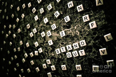 Stand Out Print by Liesl Marelli