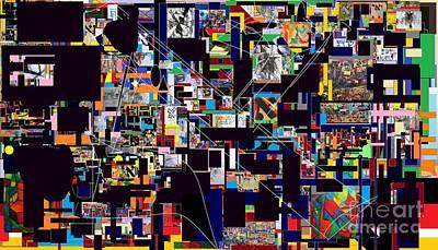 Tzaddik Digital Art - Wiping Out The Language Of Amalek14 by David Baruch Wolk