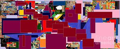 Inner Self Digital Art - Wiping Out The Language Of Amalek 4 by David Baruch Wolk