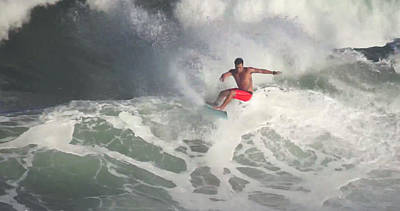 Haleiwa Photograph -  Storm Surfer by Kevin Smith