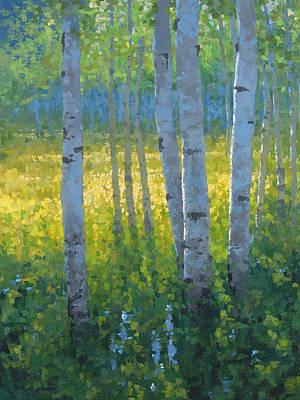 Sundance Painting -  The Dancing Sun by Stephen Bartholomew