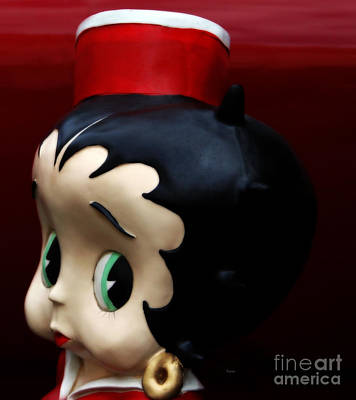 The Eminent And Beautiful - The Sassy Ms. Betty Boop Print by Steven  Digman