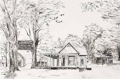The Farm Print by Susan Gauthier