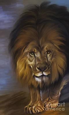 The Lion King Print by Andrzej Szczerski