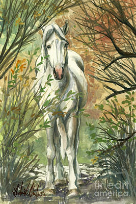 Llmartin Painting -  The Look Out by Linda L Martin