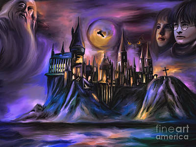 The Magic Castle I. Original by Andrzej Szczerski