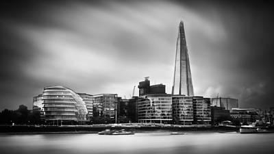 Armadillo Photograph -  The Shard And City Hall London by Ian Hufton