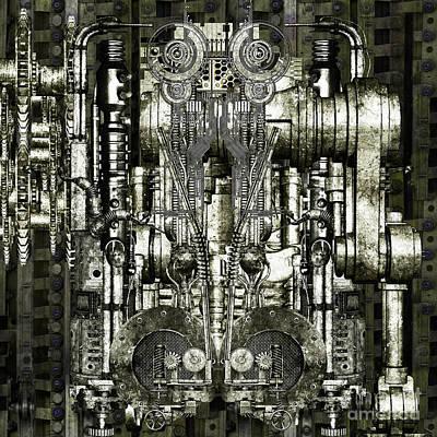 Timemachine Vi Print by Diuno Ashlee
