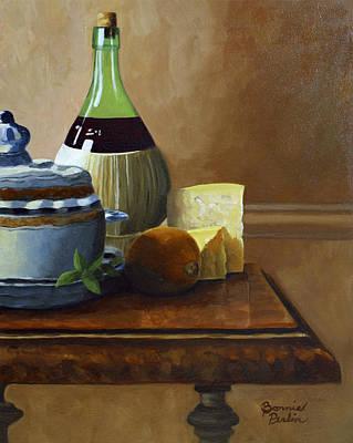 Tuscan Table Original by Bonnie Perlin