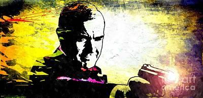 Sean Connery Mixed Media - 007 by Daniel Janda