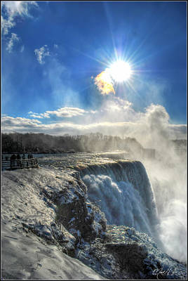 008 Niagara Falls Winter Wonderland Series Print by Michael Frank Jr