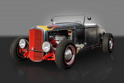 Ford Roadster Photograph - 1930 Ford Roadster by Frank J Benz