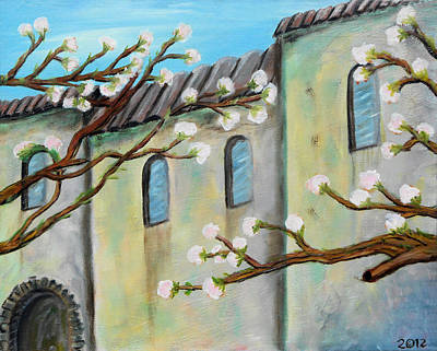 The Downtown Gallery Painting - 026 Spain On The Bluff by Gregory Otvos