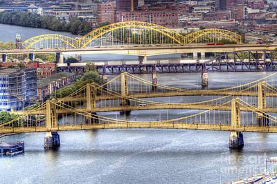 0307 Pittsburgh 8 Print by Steve Sturgill