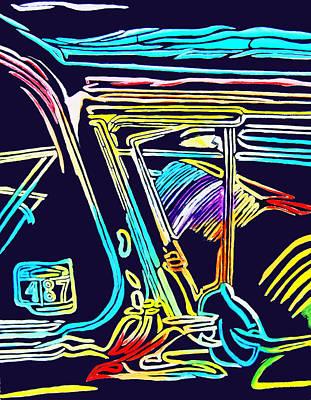 042 Neon 57 Original by Gregory Otvos