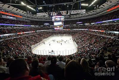 0743 The United Center Print by Steve Sturgill