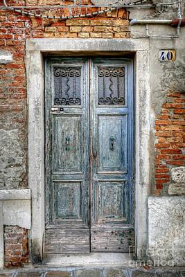 0778 Murano Italy Print by Steve Sturgill