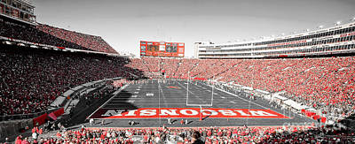 Athletic Sport Photograph - 0813 Camp Randall Stadium Panorama by Steve Sturgill