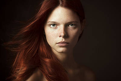 Freckles Photograph - ___ by Danil Rudoy