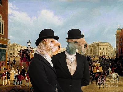 Lakeland Dog Painting -  Lakeland Terrier Art Canvas Print by Sandra Sij