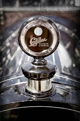 1911 Photograph - 1911 Cadillac Roadster Hood Ornament - Moto Meter by Jill Reger