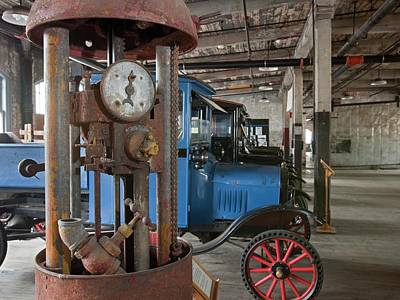 1918 Gasoline Pump Print by Jim West