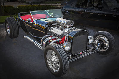 1925 Ford Model T Hot Rod Print by Rich Franco