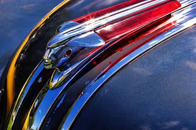 1948 Pontiac Silver Streak Hood Ornament Photograph By