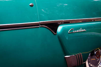 Ford Photograph - 1954 Ford Crestliner by David Patterson