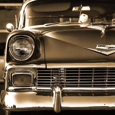 1956 Chevy Bel Air Print by Gordon Dean II