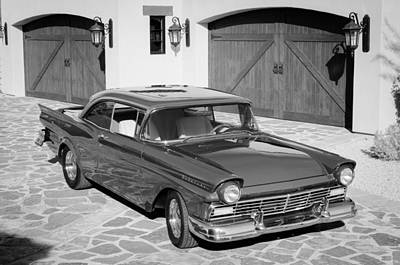Ford Fairlane Photograph - 1957 Ford Fairlane by Jill Reger