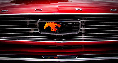 Mustang Photograph - 1966 Ford Mustang by David Patterson