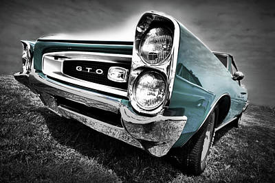 Drag Digital Art - 1966 Pontiac Gto by Gordon Dean II