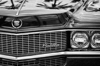 1969 Cadillac Eldorado Grille Print by Jill Reger