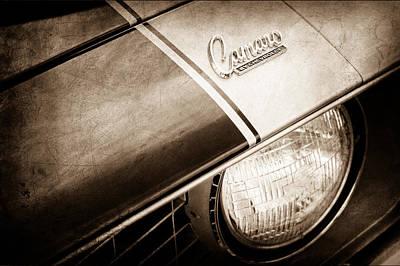 1969 Chevrolet Camaro Z-28 Emblem Print by Jill Reger