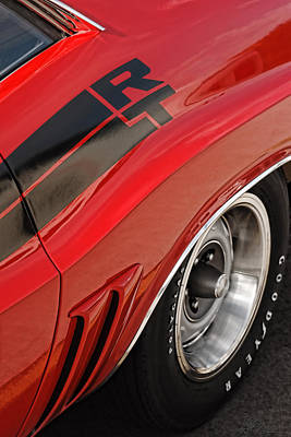 Drag Digital Art - 1970 Dodge Challenger R/t by Gordon Dean II