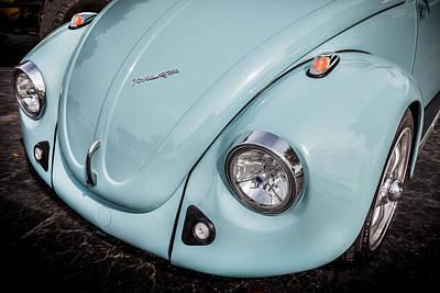 1974 Volkswagen Beetle Vw Bug Print by Rich Franco