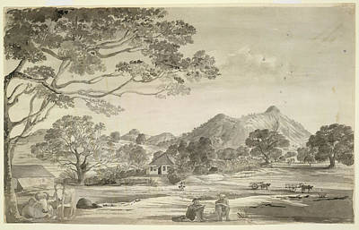 A Bungalow Print by British Library