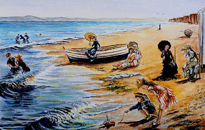 A Day At The Seaside Original by Andrew Read