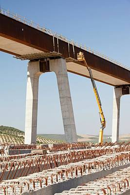 High Speed Photograph - A High Speed Rail Link Being Constructed by Ashley Cooper
