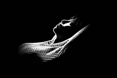 Lingerie Digital Art - A Light In The Dark by Stefan Kuhn