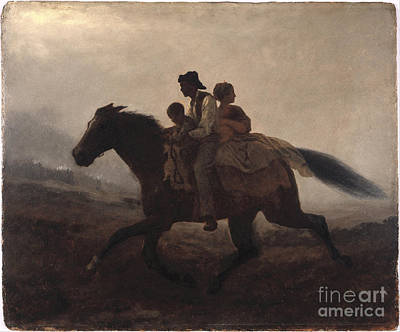 Liberty Painting - A Ride For Liberty by Celestial Images