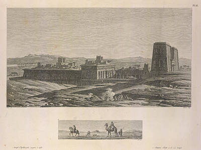 A Temple Print by British Library