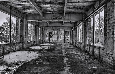 Abandonded And Empty Print by Trevor Kersley