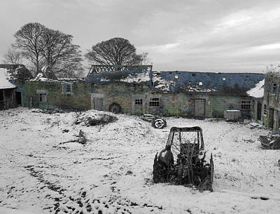 Abandoned To Nature Print by David Birchall