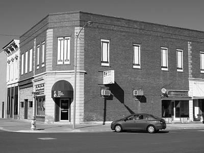 Abilene Kansas - 2nd And Broadway Print by Frank Romeo