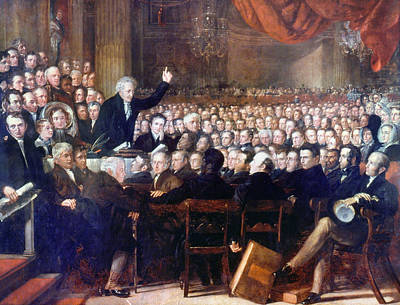 Abolition Painting - Abolition Convention, 1840 by Granger