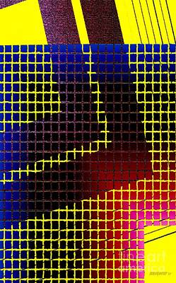 Abstract Digital Art Digital Art - Abstract Geometric Art by Mario Perez
