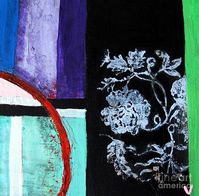 Abstract Print by Venus